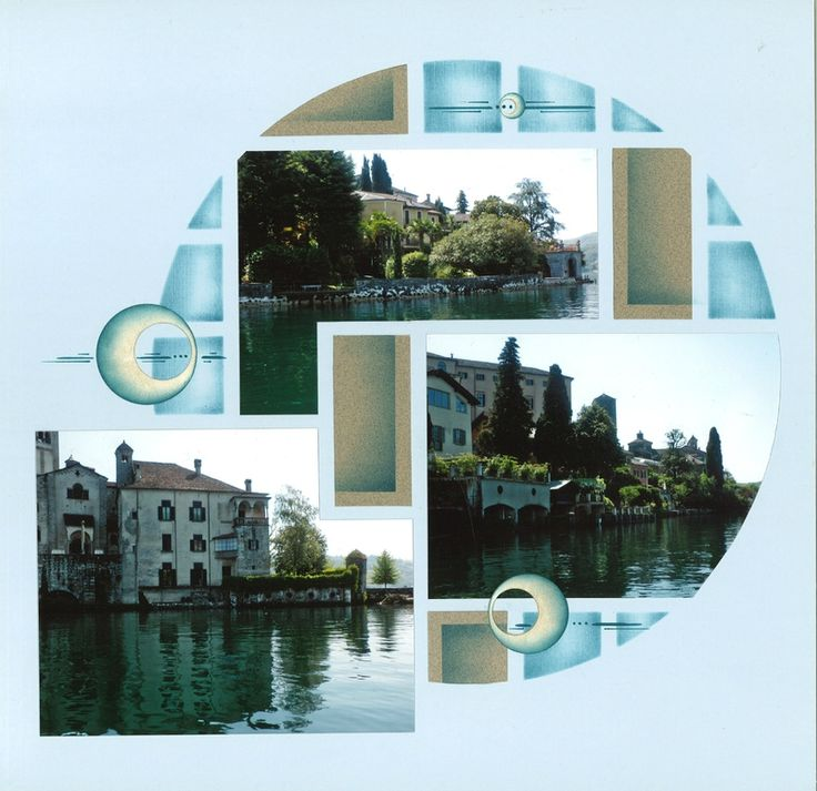 Lac d'Orta - 3 + 1 page