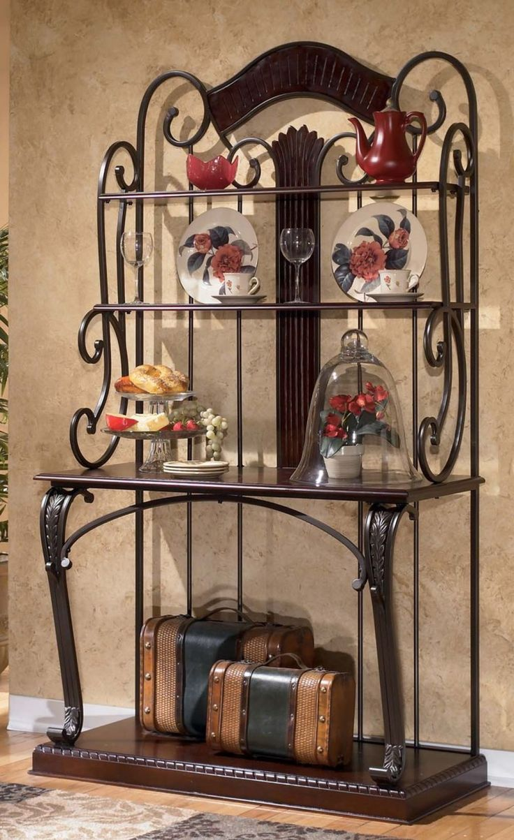 Bakers rack decorating ideas - Bakers Rack For A Perfect Addition To Your Kitchen