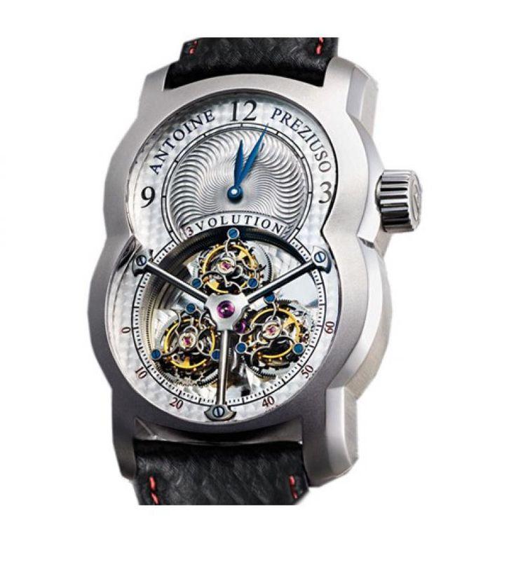 Часы Antoine Preziuso 3volution II Kevlar Tourbillons Platinum