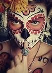MY FAV. FACEPAINTING YET. MIGHT DO FOR HALLOWEEN