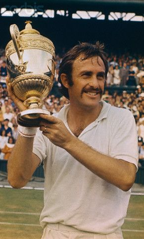 John Newcombe wins Men's Singles at Wimbledon...he was so cute back in 1970...