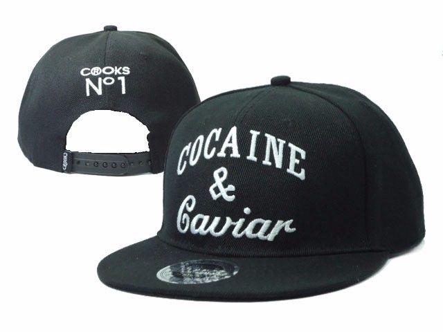 4.19$  Buy now - http://ali7gl.shopchina.info/go.php?t=32741509614 - 2017 Fashion Baseball Caps Adjustable Snapback Cap Cocaines & Caviar Hip Hop Sun Hats For Men And Women  #buyininternet
