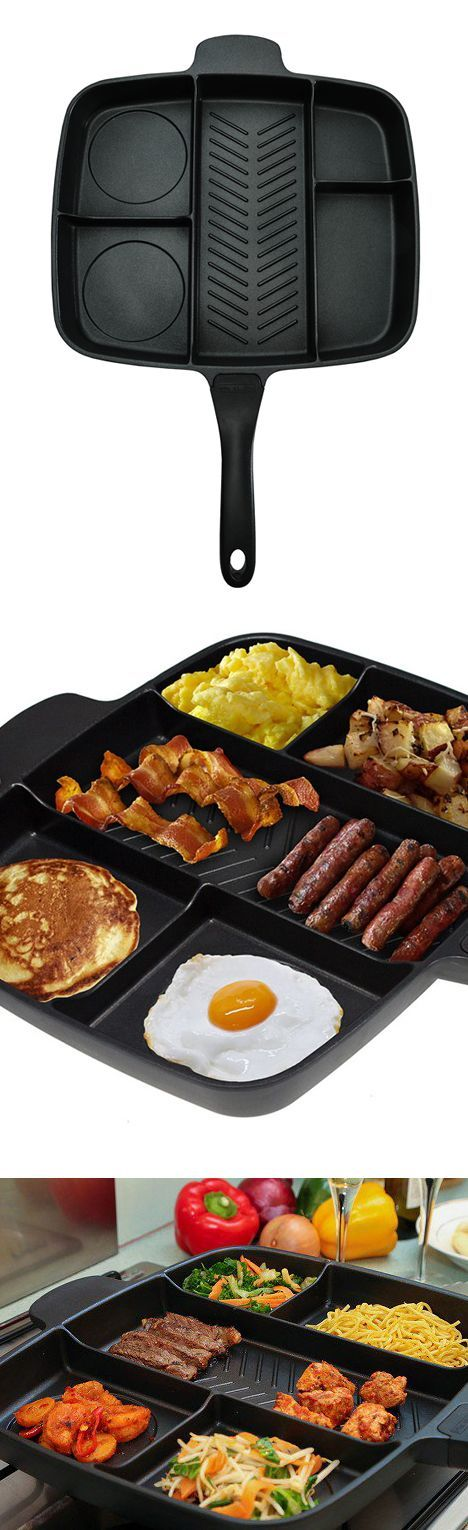 Multi-Functional Pan - Make a full meal with minimal cleanup!