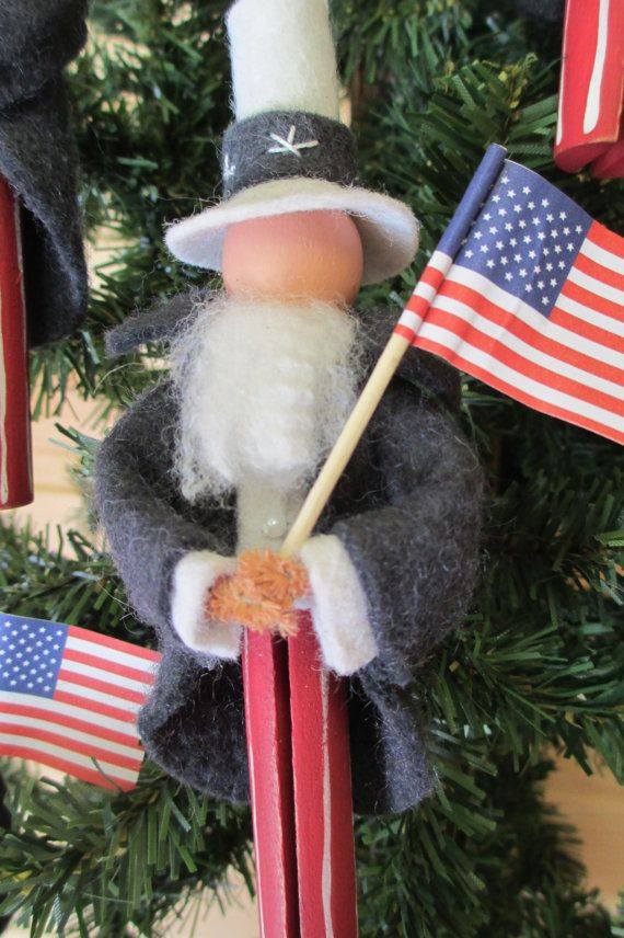 269 best Patriotic Christmas Tree images on Pinterest  Christmas