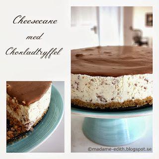 Madame Edith - Recept: Cheesecake