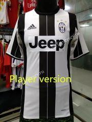 2016/17 Juventus Home White Black Thailand Soccer Jersey Player Version