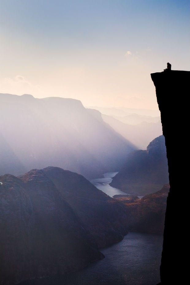 Norway Landscape - Preikestolen
