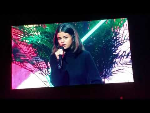 Selena Gomez Tearfully Shares her Testimony: I'm a Child of God | CBN News  HILLSONG CONFERENCE 2017