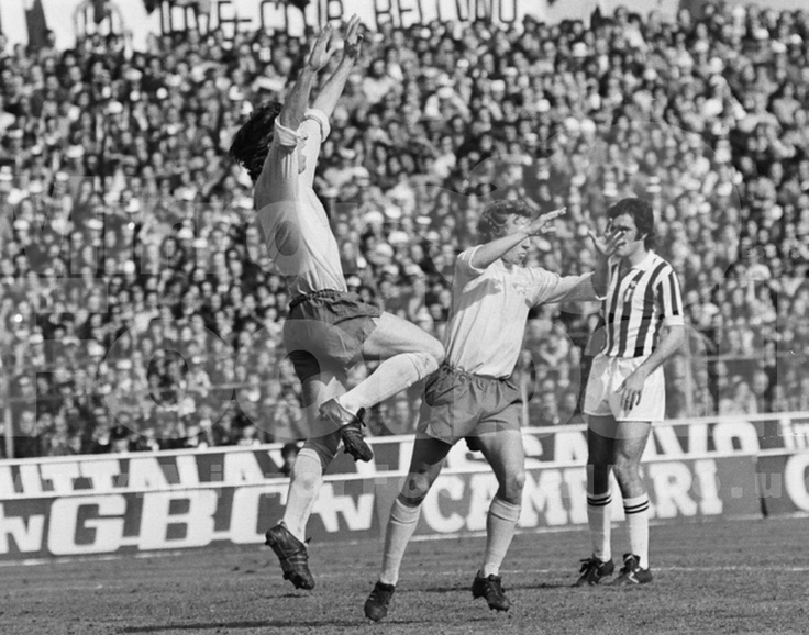 Juventus 3-1 Derby County, 1973 European Cup Semi Final Ist leg.