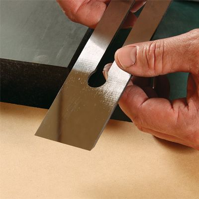 Introduction to sharpening handplane blades and how to make a sharpening jig to speed the job up.