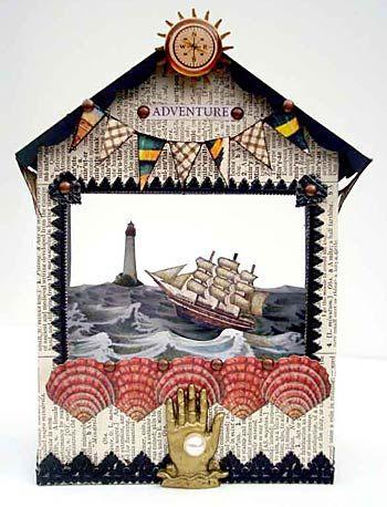 Alpha Stamps News » Sea Adventure Theatre Tutorial by Nichola Battilana