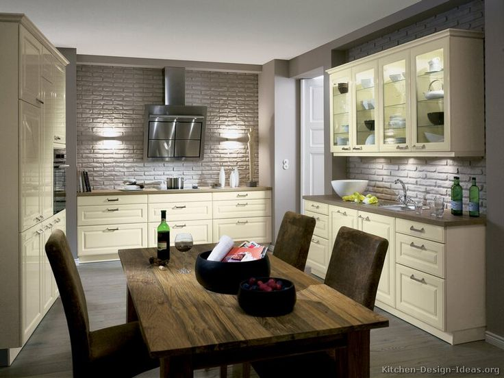 Kitchen idea of the day antique white kitchen cabinets for Alno kitchen cabinets