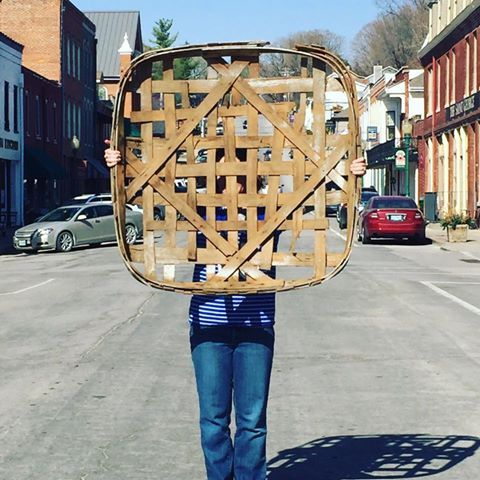 Weston MO Tobacco Basket from Cactus Creek