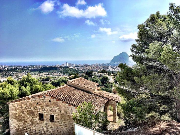 Vistas desde uno de nuestros bungalows...  Gracias por la foto Alberto Granados Martinez ¡Hasta la próxima!  #Vistas #Clientes #Mediterráneo #ColinaResort #Bungalows