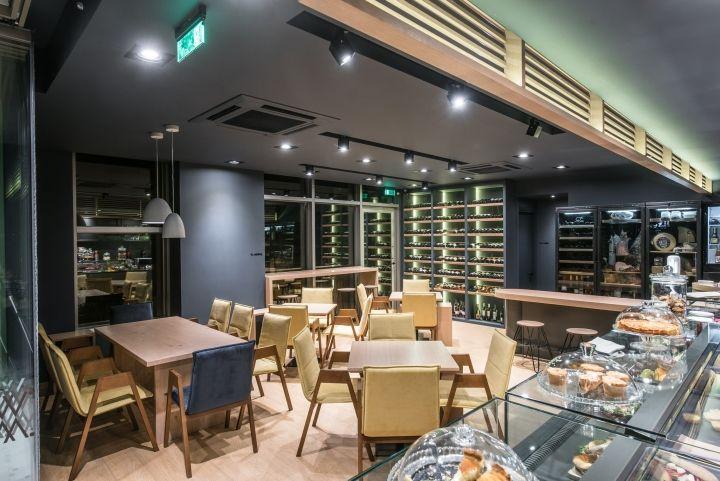 Manjar wise food, coffee & wine bar by Manousos Leontarakis & Associates, Heraklion – Greece » Retail Design Blog
