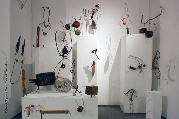 trésors minuscules - Grosse exposition des différentes facettes de mon travaail : illustrations, sculptures, gravures, céramiques...
