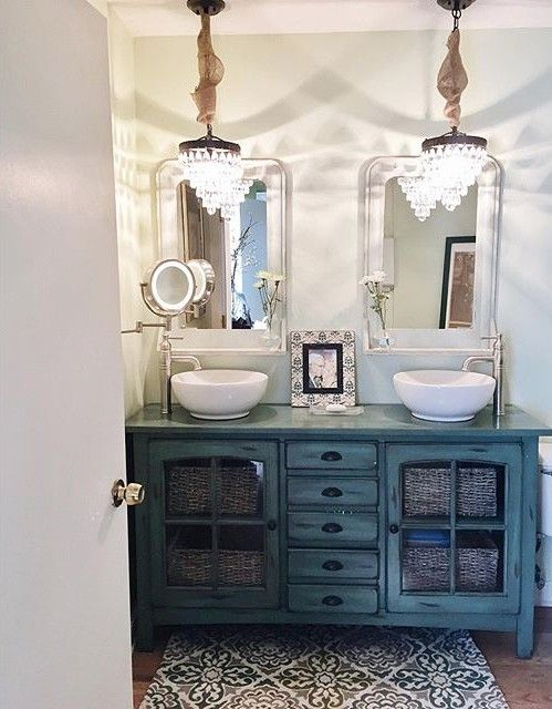 fixer upper fans have a new website to be addicted to httpwww bathroom vanity barnwood mirror oyster pendant lights