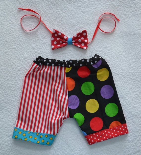 BaBY PHoTO PRoPs Unisex Newborn 3 month CiRCuS by MadAboutColour, $40.00