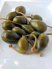Capers, caper berries and some excellent recipes that use them.