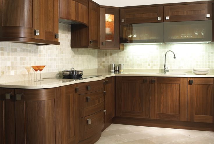 #walnut #solid #kitchen #design #decor #style #furniture
