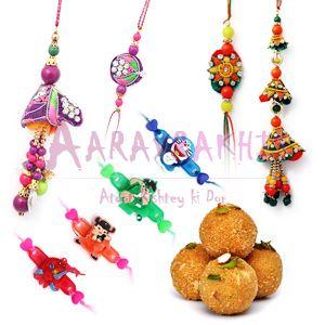 Rakhi With Sweet