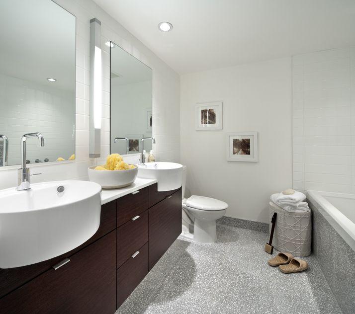 Master Bathroom in The Hudson  #HudsonDistrict