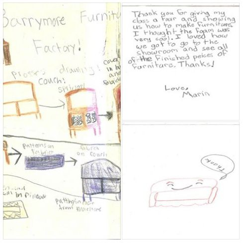 Loved all the thank-you letters we received after a school visit last month. #kidsaregreat