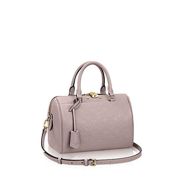 Speedy Bandoulière 25 - Monogram Empreinte Leather - Handbags | LOUIS VUITTON