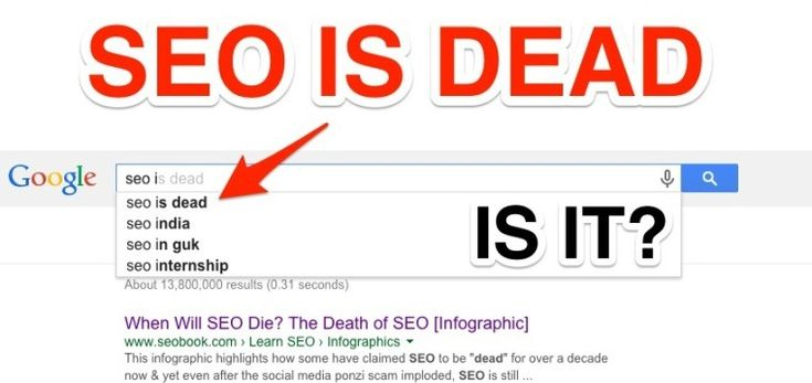 """As an SEO professional focused on the healthcare industry, I regularly come across articles declaring that """"SEO is Dead!"""" For the most part, these are reactionary pieces in response to some sort of shift in the search landscape, such as Google removi"""
