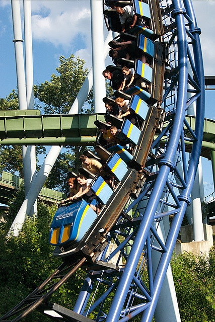 Sooperdooperlooper, Hersheypark, PA - the first loop coaster I ever rode! Boy! Looking back, was it ever tame! LOL!