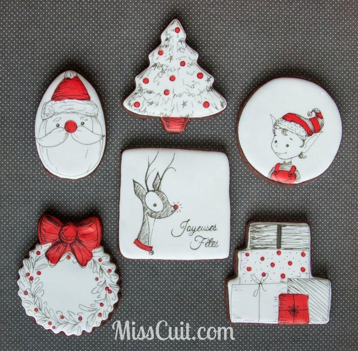 Biscuits Noël 2014 Christmas cookies