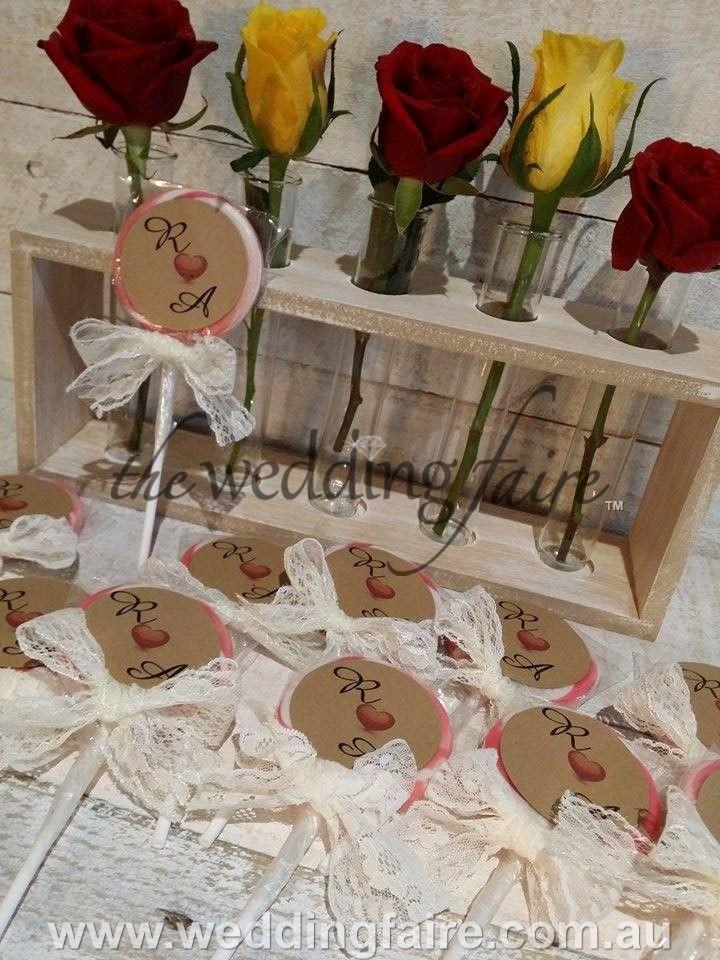 Ooh La Lollipops - Vintage - Personalised - 30 grams - The Wedding Faire  #vintagefavor #vintagebomboniere #lollipopplacecard #weddingreception #weddingfavour #weddingfavor #lace #rustic #kraftpaper #personalisedgifts