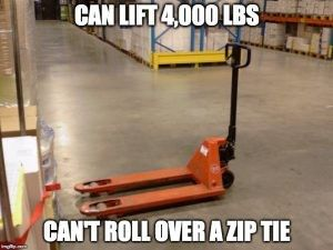 Warehouse humor