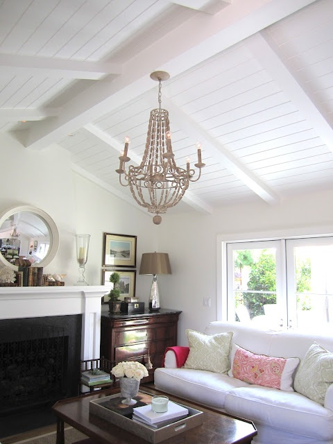 Best 25 bead board ceiling ideas on pinterest ceiling beadboard ceiling coverings and for Small chandeliers for living room