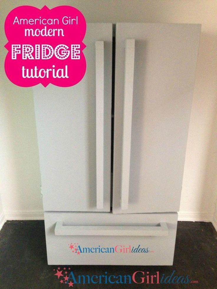 american girl refrigerator
