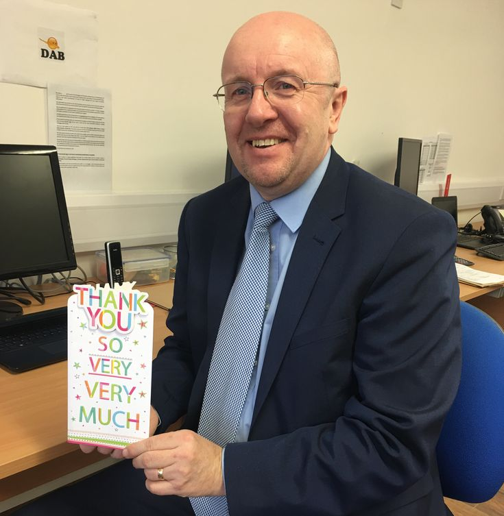 Wayne is delighted with his thank you card!  Your Local #Mortgage #Broker - Always here to help!  Mortgage Broker in Beverley - http://beverleymoneyman.com