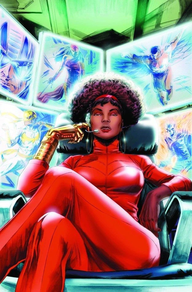 Misty Knight | 17 Black Superheroes And Where To Read More About Them