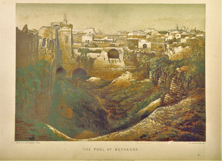 12 Best John 5 1 9 Healing At The Pools Of Bethesda Images