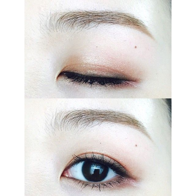 #InstaSize #눈스타그램 #뷰스타그램 #데일리 #메이크업 #오늘의화장 #눈화장 #섀도우 #코덕 #eyemakeup #makeup #eyemakeupoftheday #potd #motd #eotd #daily #eotd #eyeshadow #化妝 #メイク #今日のメイク. . ✔️(동공기준)앞쪽 - #맥 #mac #허니러스트 #honeylust ✔️(동공기준)뒤쪽, 언더 - #아리따움 #모노아이 #모던파탈