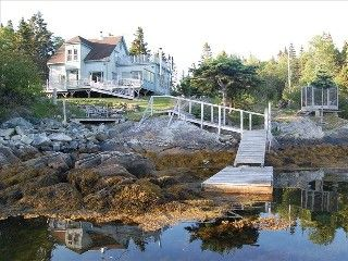 Lunenburg House Rental: Stunning Oceanfront Island Home! On Secluded Cove Near Lunenburg. Car-accessible | HomeAway
