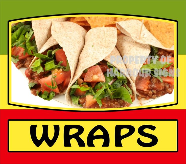 """Wraps Decal 14"""" Latino Mexican Food Truck Restaurant Concession Cater Vinyl #HarbourSigns"""