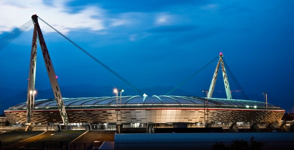 Juventus Stadium in Turin  Opened in September 2011.