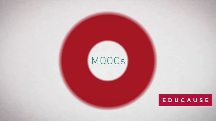 MOOCs and Beyond. A short video about MOOCs and the connected age.   EDUCAUSE SPRINT 2013 Beyond MOOCs: Is IT Creating a New, Connected Age?...