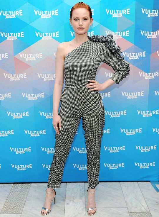 Madelaine Petsch attends the Vulture Festival in NYC on May 20, 2017.