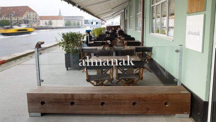 The Standard, Copenhagen: Thors Gamma bench with glass