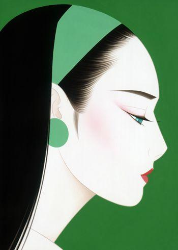 藤田一郎「ノエビア・ズームアップシリーズ(グリーン)」