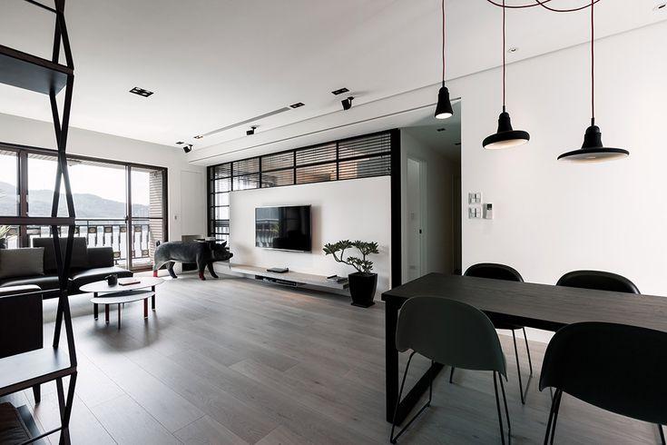 Trang trí nội thất căn hộ 2 phòng ngủ ấn tượng