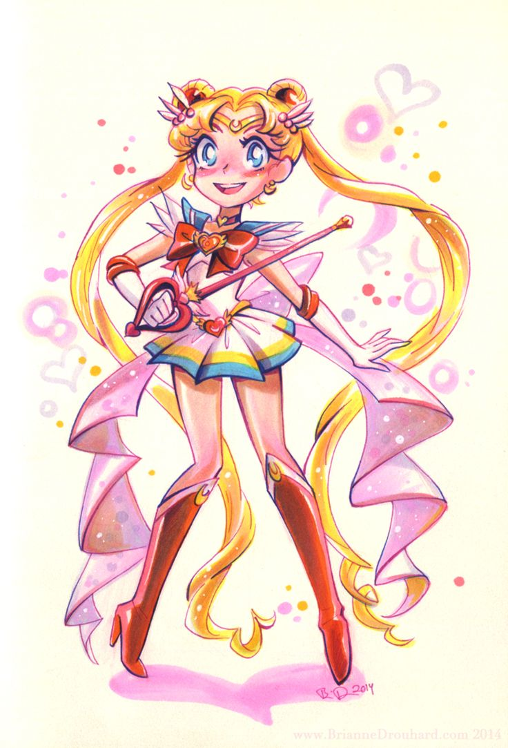 Awesome Sailor Moon fan art :) http://little--root.tumblr.com/post/77618417719/potatofarmgirl-im-done-drawing-sailor-scouts