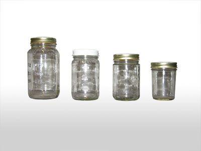 lots of jar sizes