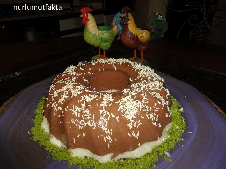 NURLUMUTFAKTA !!!: Çikolatalı İrmikli Muhallebi